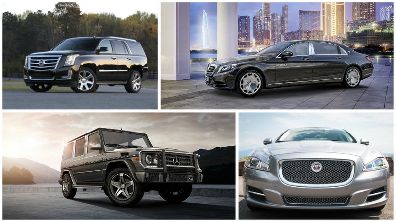 These Big Luxury Vehicles Show The World You've Made It