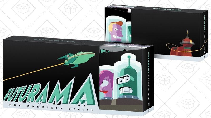 Illustration for article titled Today's best deals: Futurama, tiny speakers, and more