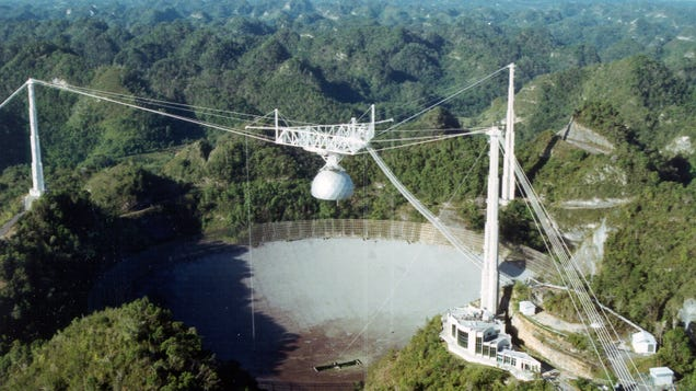 A Magically Surreal Symbol of Human Ingenuity : Scientists Reflect on Arecibo's Doomed Big Dish