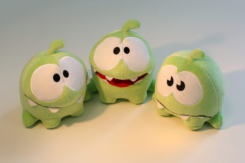 Illustration for article titled Bury Me Deep Beneath These Cut the Rope Plushies