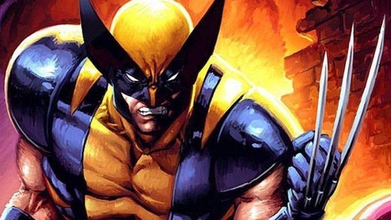 Wolverine preparing to fight.