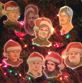 Illustration for article titled Deck the Halls with the cast of Game of Thrones