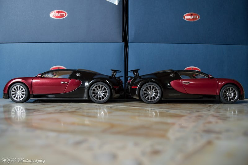 Illustration for article titled AutoArt Veyron unexpected problem...........