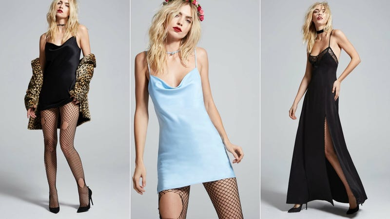 You Could Cop Courtney Love's Wearable Lingerie Collection... Or You Could Just Thrift a Slip