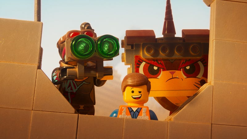 Illustration for article titled Weekend Box Office: The Lego Movie 2 bricks its debut