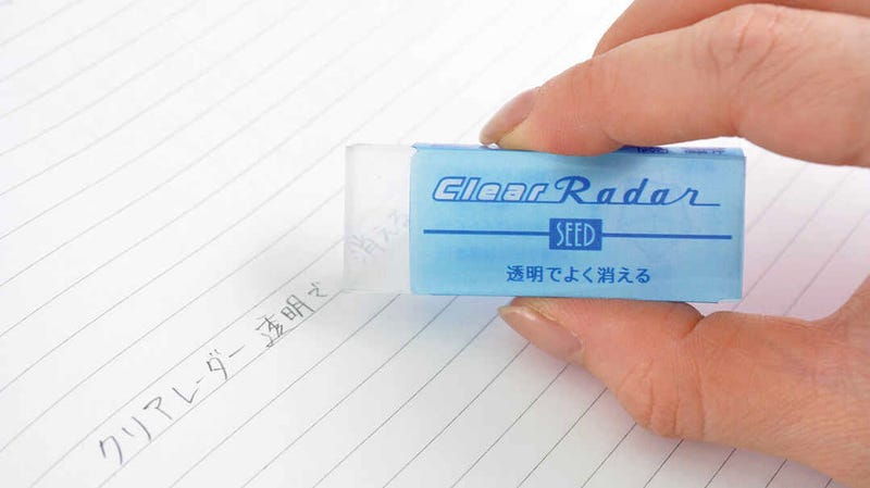Illustration for article titled It Took Five Years to Perfect the Recipe for This Transparent Eraser