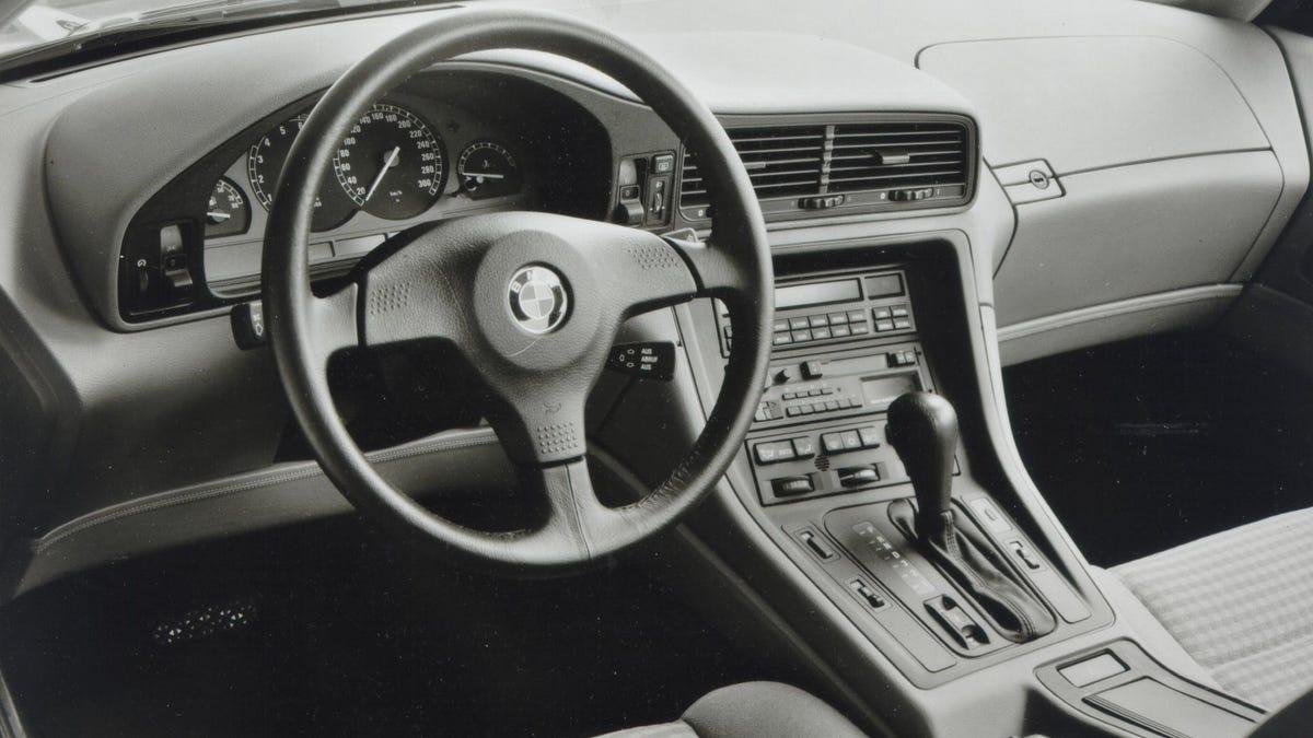 manual bmw 850i e31