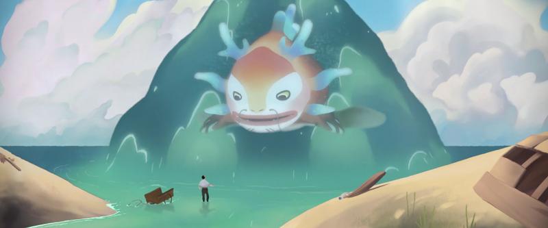Illustration for article titled Un increíble corto animado del que Miyazaki se sentiría orgulloso