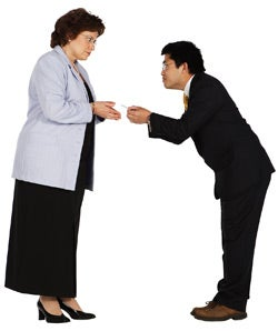 Illustration for article titled Misinterpreted Foreign Business Gestures