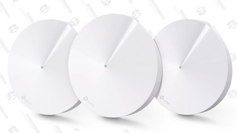 Pack de 3 routers mallados TP-Link Deco M5   $170   AmazonGráfico: Shep McAllister