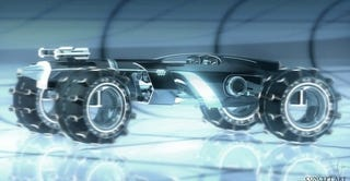 Illustration for article titled New Tron Legacy art gives us a better look at the Light Car