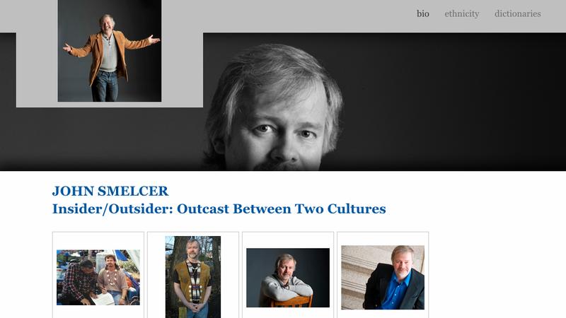 Screengrab from http://www.johnsmelcer.com/bio/