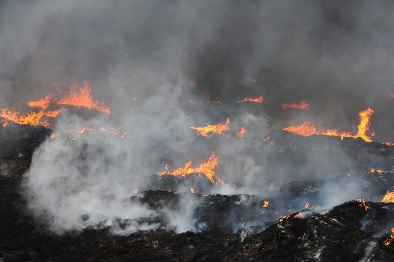 A tire fire (Getty Images)