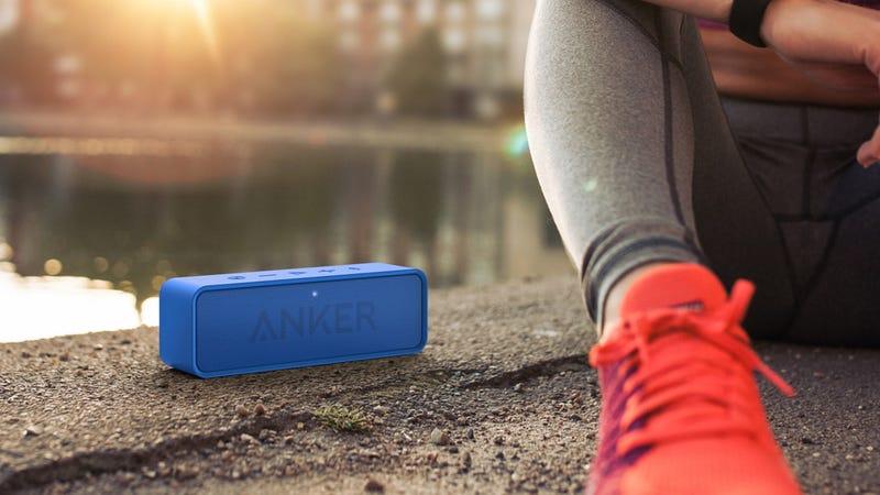 Anker SoundCore Bluetooth Speaker (Red/Blue) | $24 | Amazon | Promo code KINJAA3102