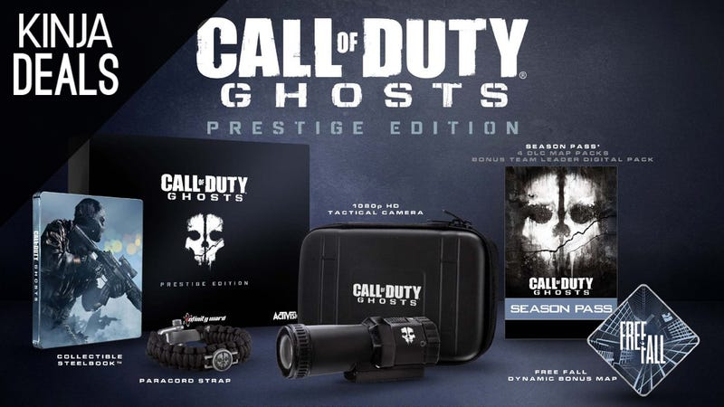 Illustration for article titled This $40 Call of Duty Bundle Comes With a Real 1080p Action Cam