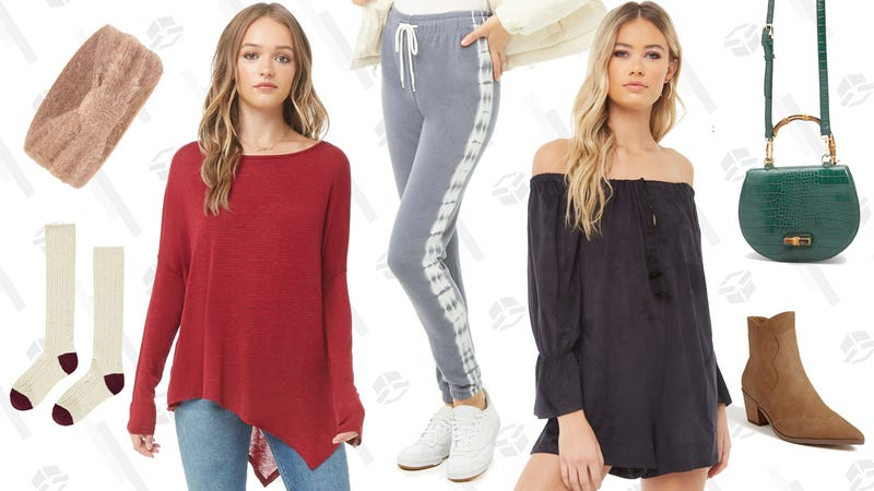 Buy One Clearance Item, Get One Free | Forever 21 | Promo code BOGOFREE