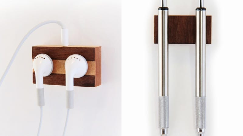 Illustration for article titled Keep Your Desk Clutter-Free With These Clever Magnetic Doodads