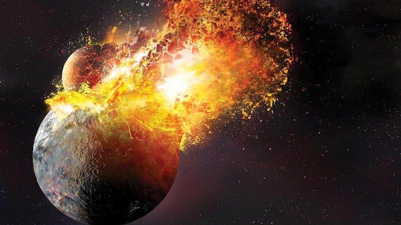 Estábamos equivocados sobre el origen de la Luna: fue mucho más violento de lo que creíamos