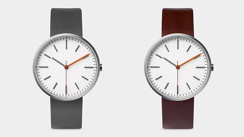 Illustration for article titled This Bauhaus-Inspired Watch Is Smart Because It's So Simple
