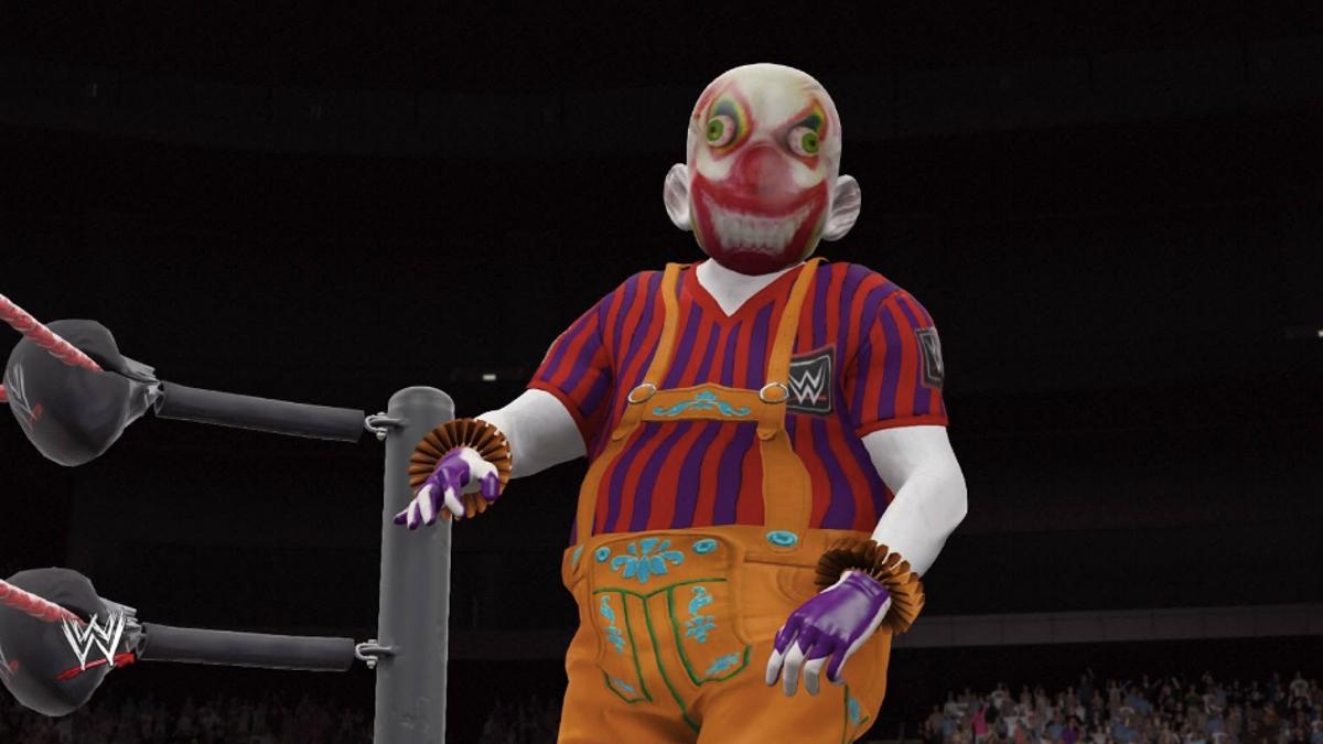 The Most Bizarre Fan-Made Pro Wrestlers From WWE 2K16
