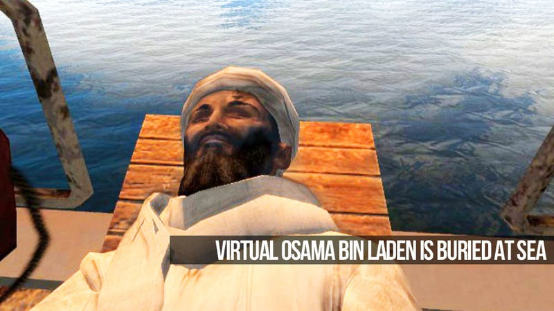 Illustration for article titled Is the bin Laden Kill Game Cathartic, Educational, or Just Ghoulish?