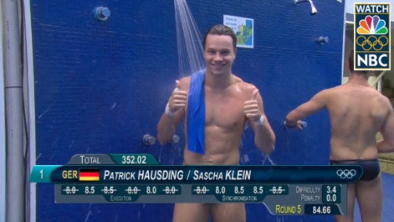 Olympic diving (Photo: NBC)