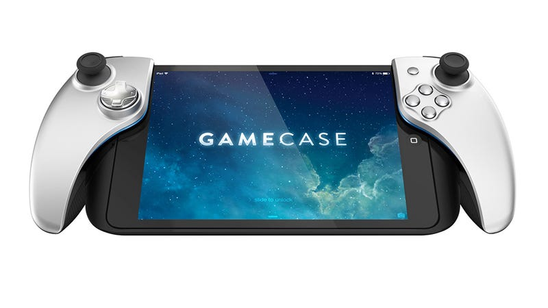 Illustration for article titled The First Announced iOS 7 Gamepad Looks... Interesting