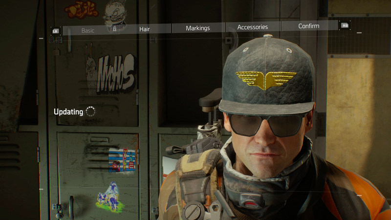 Division patch 1.7 added many things, but a smile was not one of them.