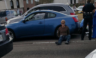 Ronald Gasser, who has been charged with manslaughter for the shooting death of Joe McKnightNBC Screenshot