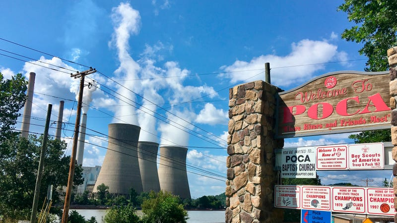 This coal plant in Winfield, West Virginia, could see mercury spewing out of it if this goes through.