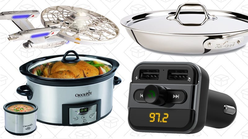 Illustration for article titled Today's Best Deals: Crock-Pot, All-Clad, Starship Enterprise, and More