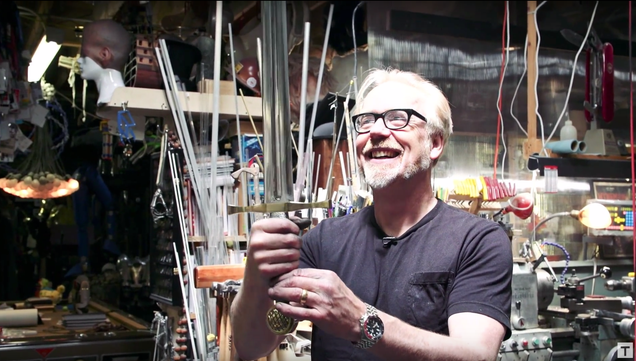 Watching Adam Savage Build a Replica of Excalibur Will Help Slake Your Thirst For Battle, Just a Little