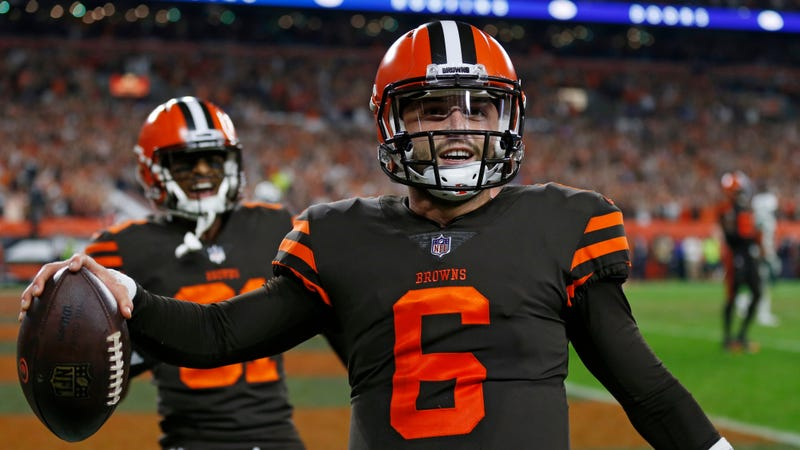 feaca62f7 Baker Mayfield Leads Browns Past Jets For First Win Since December 2016
