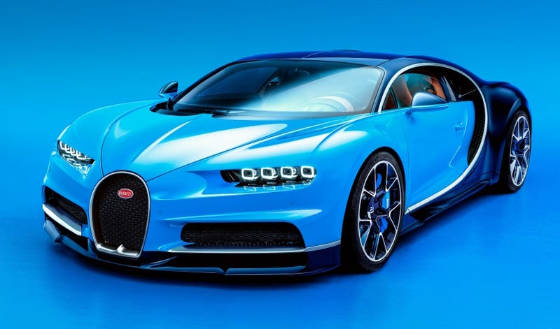 Illustration for article titled Bugatti Chiron: This Is It