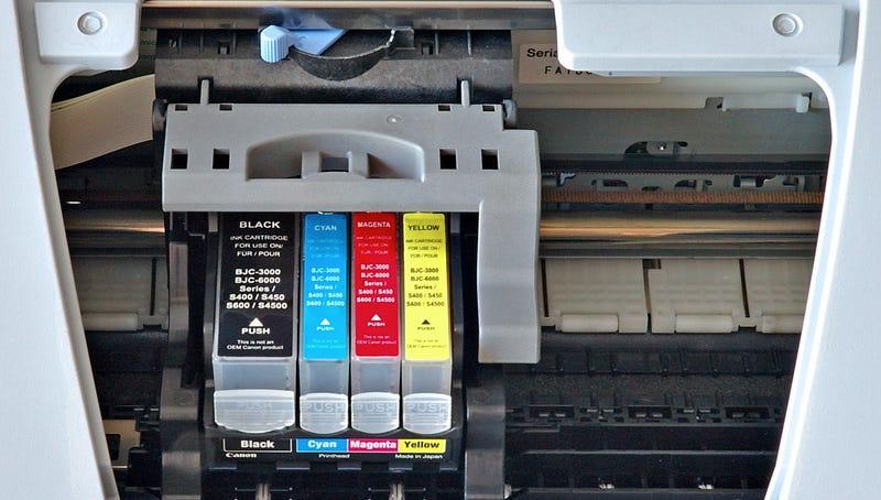 Cabezal de impresión de una impresora doméstica. Foto: André Karwath / Wikimedia