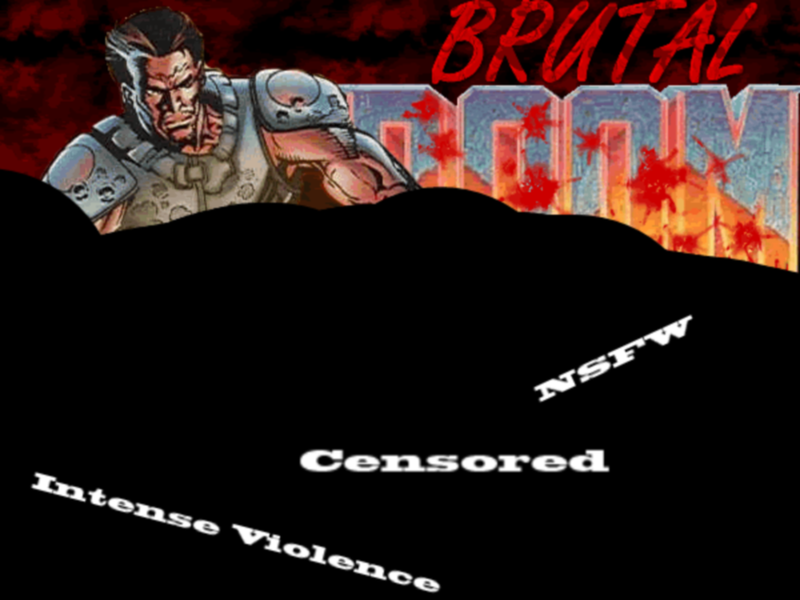 Illustration for article titled NotGoodForReview - Brutal Doom TAY Review