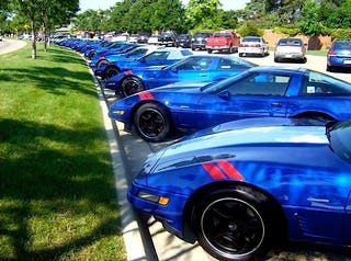 Illustration for article titled Every Corvette Grand Sport Ever
