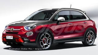 Abarth 500X at the end of the year