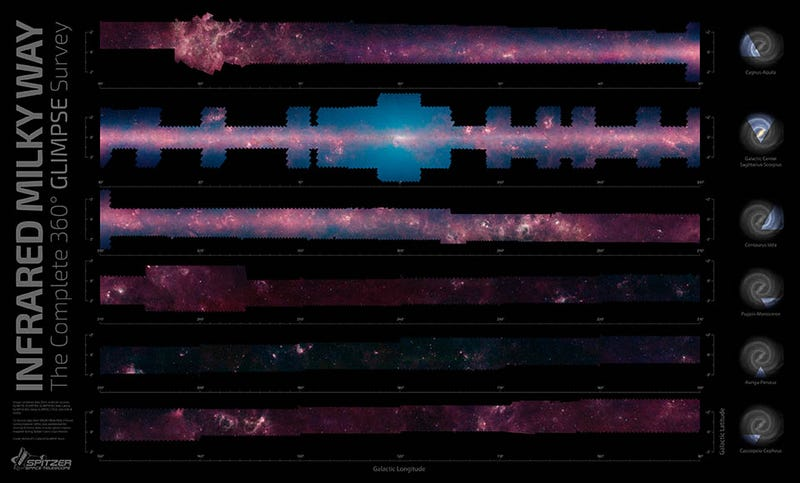 Illustration for article titled An Interactive Map That Lets You Spin Around The Milky Way Galaxy!