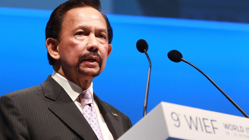 Sultan Hassanal Bolkiah in 2013