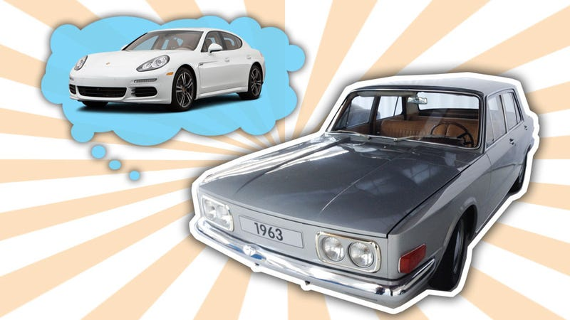 Illustration for article titled Volkswagen Almost Created The Porsche Panamera Back In 1965
