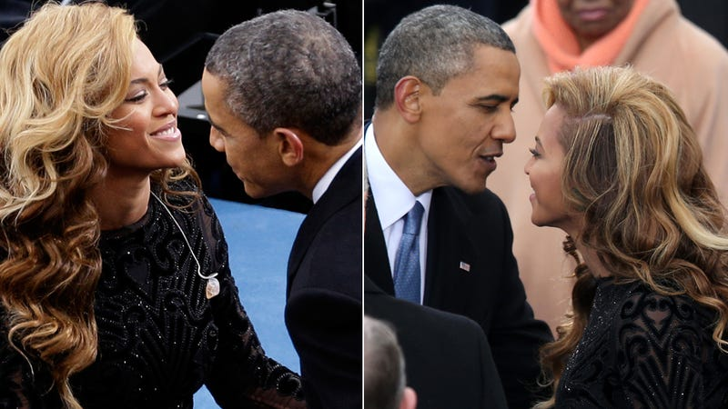beyonce dating obama Questioned about the obama-beyonce claims  the 20 year age gap between mr obama and beyonce is almost the same  it's hard to imagine double dating,.