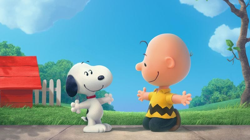 Illustration for article titled In each other, Charlie Brown and Snoopy found solace in a cruel world