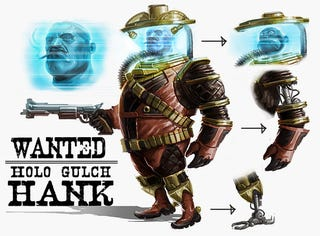 Illustration for article titled TimeSplitters 4 Concept Art Drips From Corpse of Free Radical