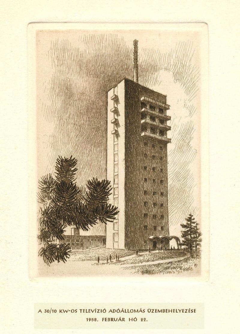 Illustration for article titled A Széchenyi-hegyi tévétoronyra hajtana egy gyújtogató?