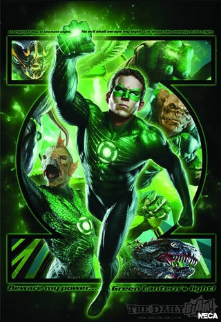 Illustration for article titled Green Lantern posters