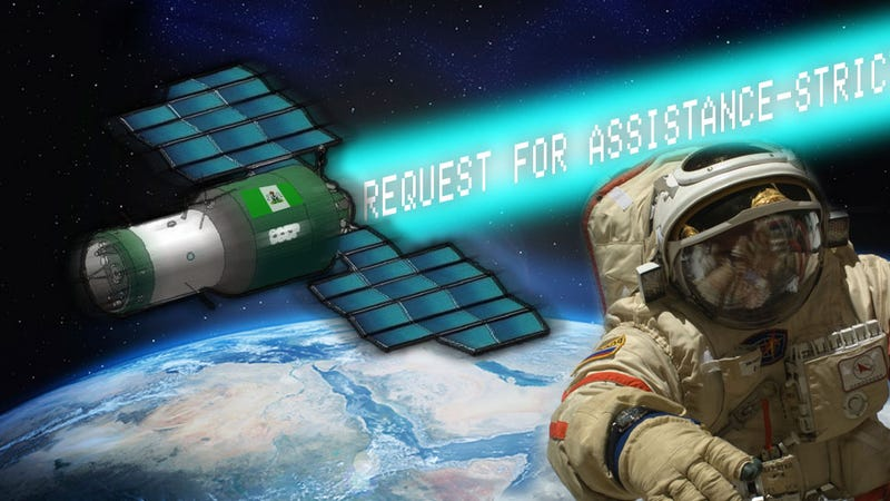 Illustration for article titled All The Surprisingly True Stuff In The 'Lost-In-Space' Nigerian Scam