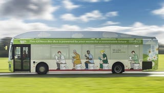 Illustration for article titled British Airport Gets A Poop-Powered Shuttle Bus