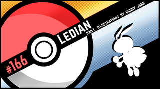 Illustration for article titled Henshin a Go Go Ledian!  Pokemon One a Day, Series 2!