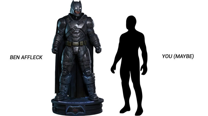 """Illustration for article titled Seven-Foot Batman """"Action Figure"""" Costs $8000"""